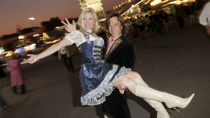 Ramona und Jürgen Drews auf der Wiesn 2009