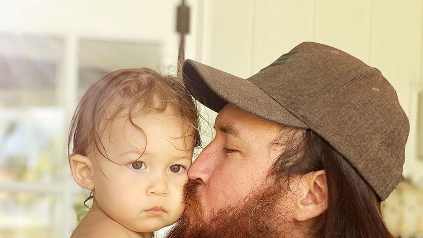 Rani Rose Hudson Fujikawa und ihr Vater Danny Fujikawa