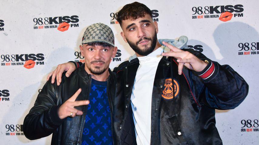 Rapper Capital Bra und Samra