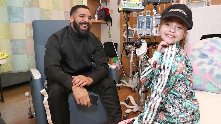 Rapper Drake und ein Fan im Krankenhaus
