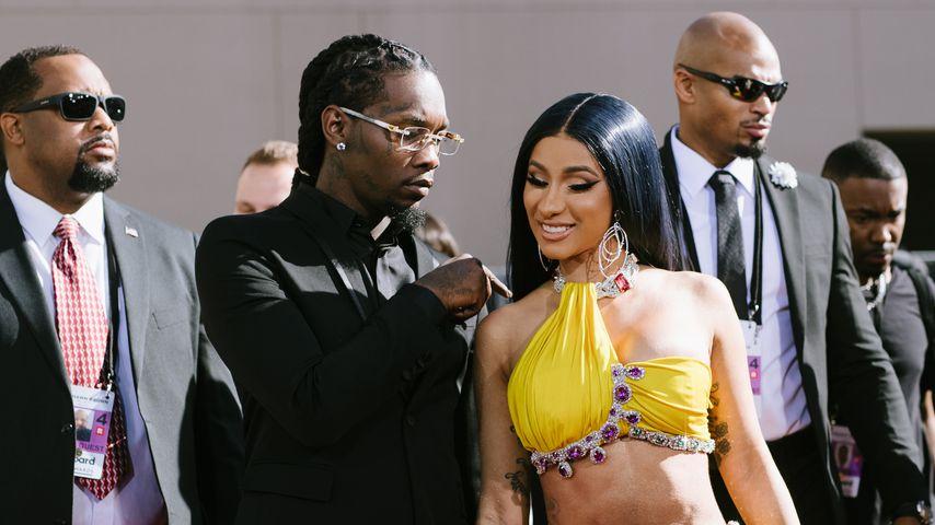 Rapper Offset und Cardi B, 2019 in Las Vegas