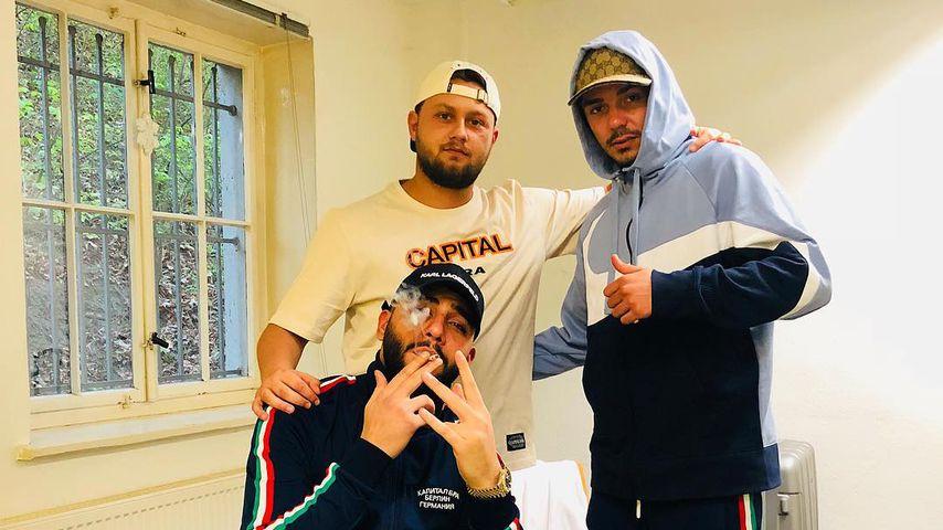 Rapper unter sich: Samra, Kalazh und Capital Bra im April 2019