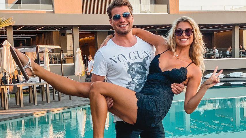 Raúl Richter und seine Freundin Vanessa Schmitt auf Kreta im September 2020