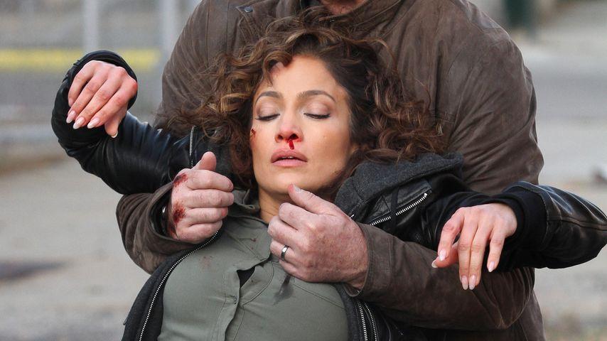 Schock-Bilder vom Set: Jennifer Lopez bewusstlos & blutend!