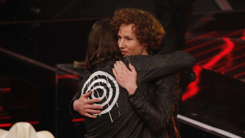 "Rea Garvey und Michael Schulte bei ""The Voice of Germany"" 2012"