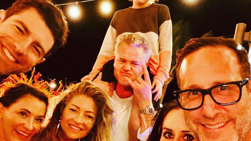 Rebecca Gayheart und Eric Dane mit ihrer Tochter Billie Beatrice an Silvester 2019