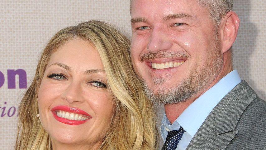 Eric Dane mit seiner Frau Rebecca Gayheart im Jahr 2015