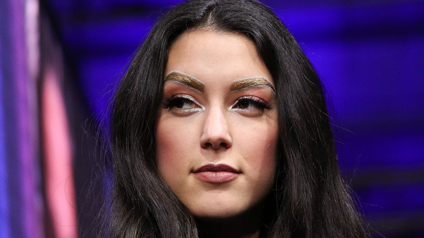"Rebecca Mir bei der Maybelline Show ""Urban Catwalk - Faces of New York"""