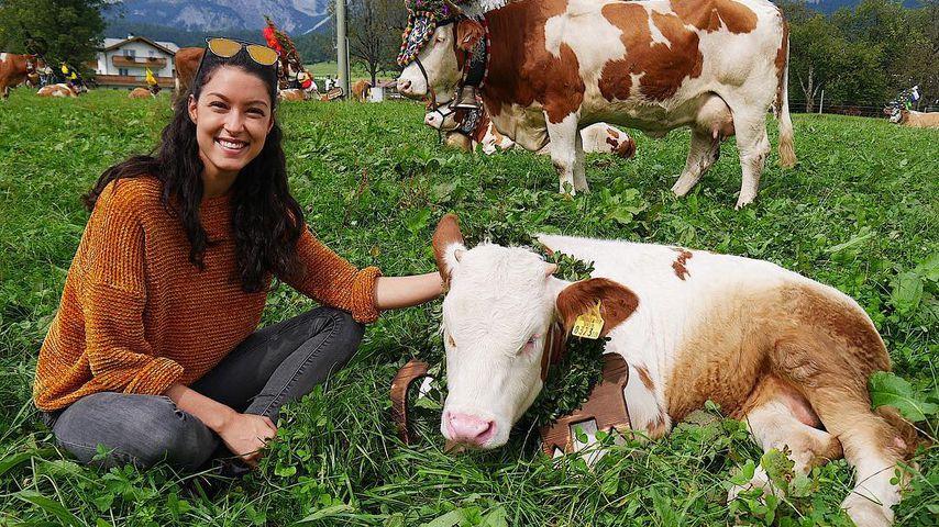 Rebecca Mir in Tirol