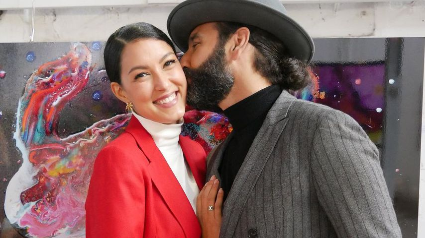 Rebecca Mir und Massimo Sinató im September 2020