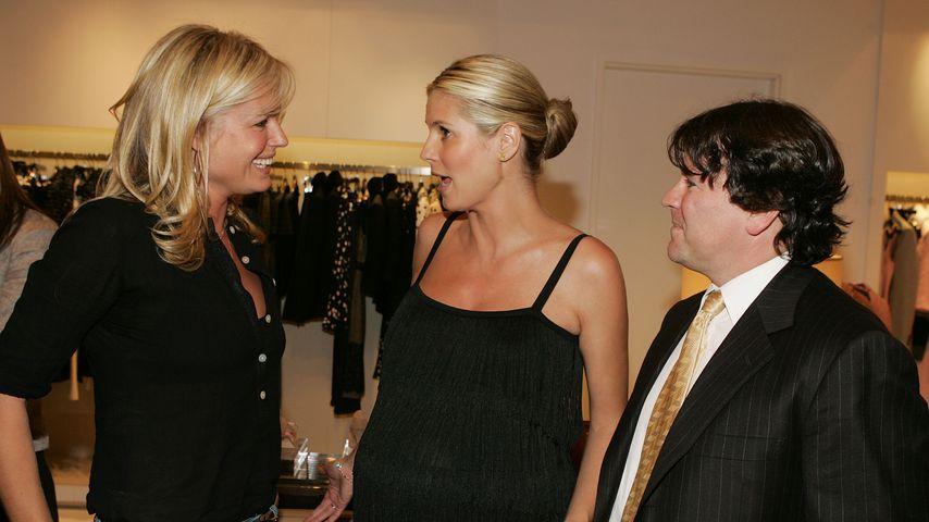 Rebecca Romijn, Heidi Klum und John Ferriter 2005 in Beverly Hills
