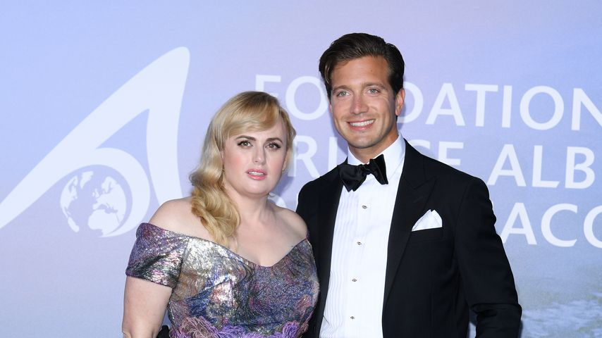 Rebel Wilson und Jacob Busch in Monaco