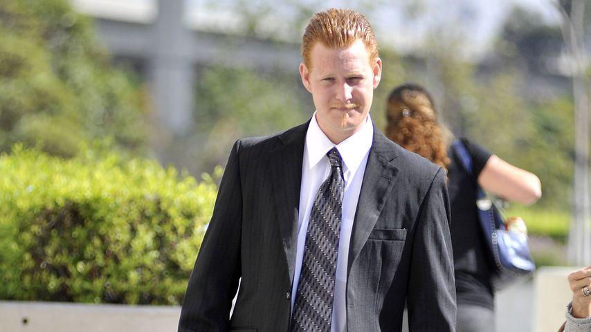 Redmond O'Neal auf dem Weg ins Gericht