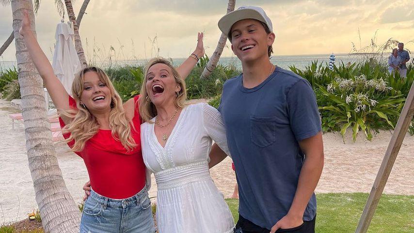 Reese Witherspoon mit ihren Kindern Ava und Deacon