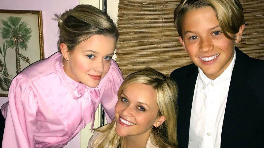 Geburtstagsglück: Reese Witherspoon feierte mit ihren Kids!
