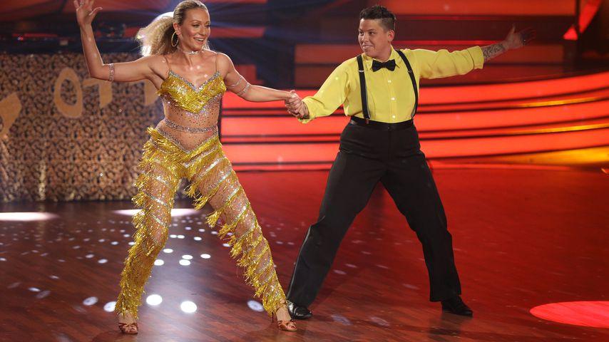 """Regina Luca und Kerstin Ott bei """"Let's Dance"""""""