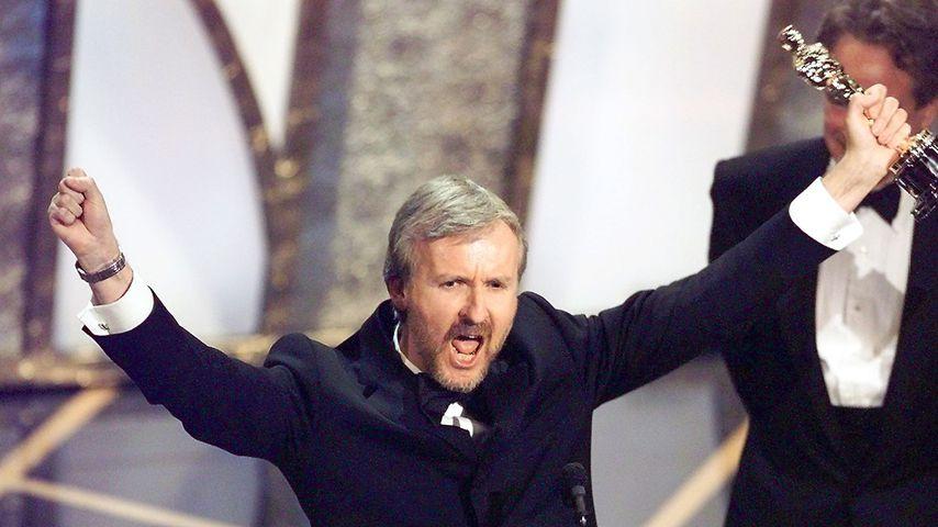 Regisseur James Cameron bei der 70. Oscarverleihung