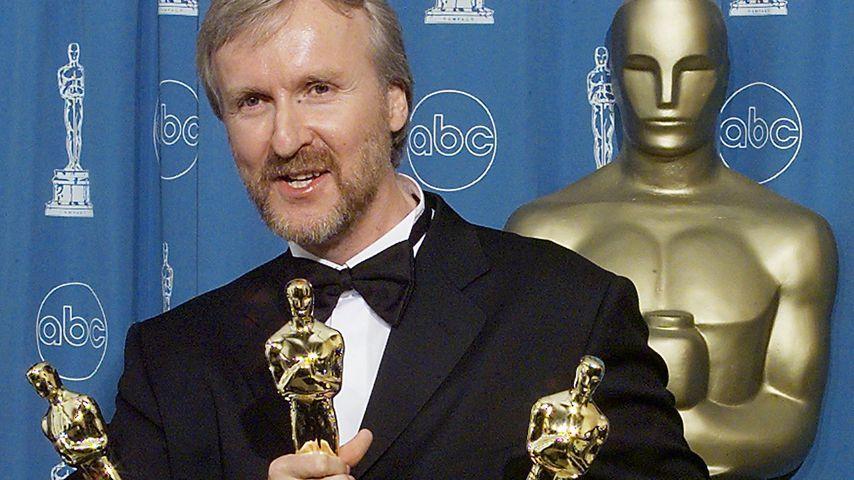 Regisseur James Cameron bei der 70. Oscar-Verleihung