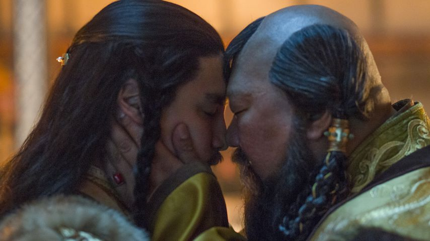 """Remy Hii & Benedict Wong in """"Marco Polo"""""""