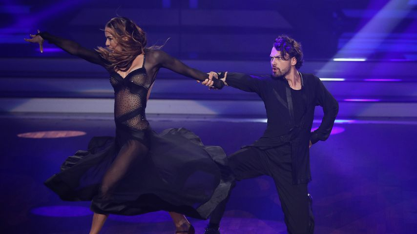 """Renata Lusin und Jimi Blue Ochsenknecht bei """"Let's Dance"""" 2018"""