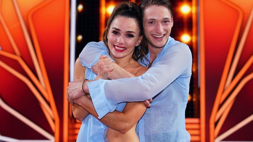 """Renata Lusin und Moritz Hans bei """"Let's Dance"""""""