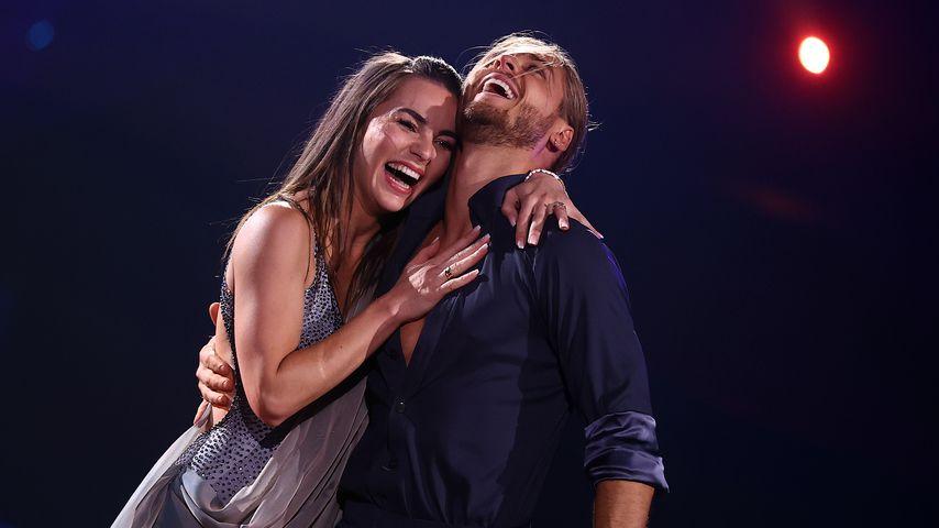 "Renata Lusin und Rúrik Gíslason, ""Let's Dance""-Paar 2021"