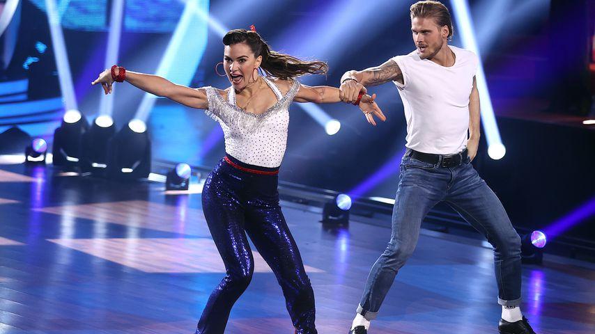 """Renata Lusin und Rúrik Gíslason in der dritten """"Let's Dance""""-Show"""