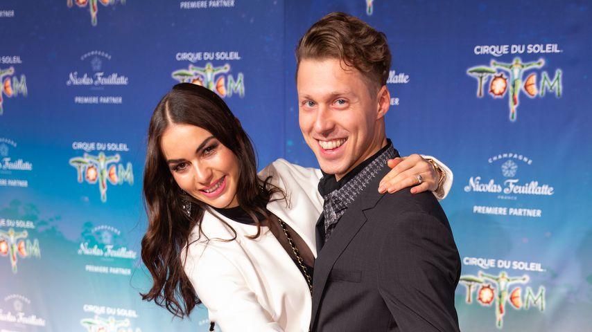 Renata Lusin und Valentin Lusin im Dezember 2019 in Düsseldorf