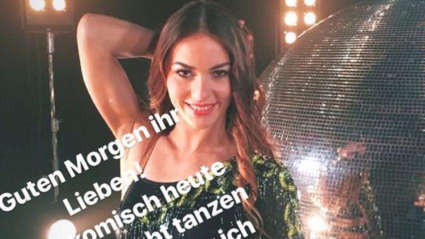 Renata Lusins Verkündung in ihrer Instagram-Story