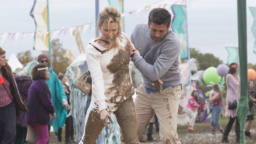 """Renée Zellweger und Patrick Dempsey in """"Bridget Jones' Baby"""""""