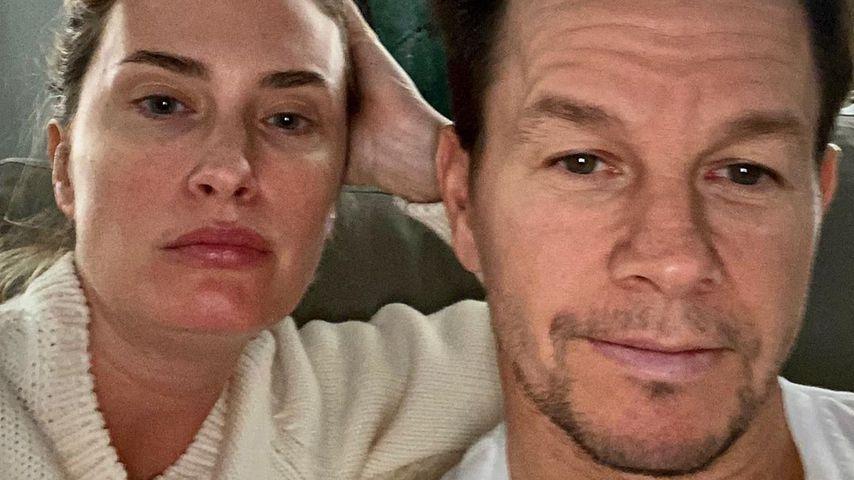 Rhea Durham und Mark Wahlberg im März 2020