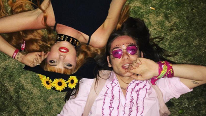 Bonnie Strange und Riccardo Simonetti