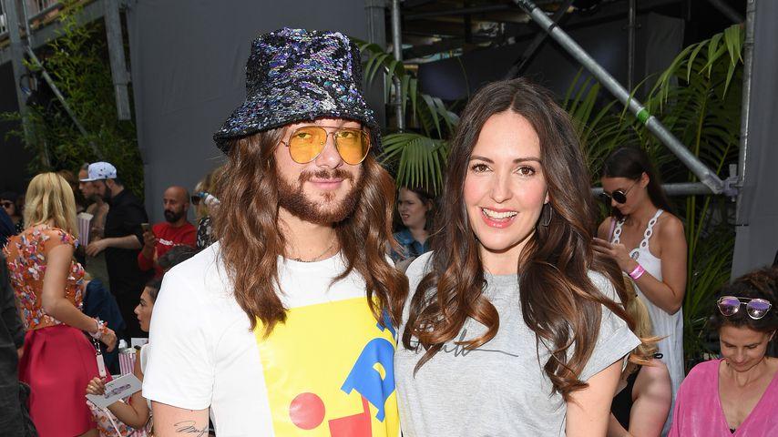 Riccardo Simonetti und Johanna Klum bei der Fashion Week in Berlin