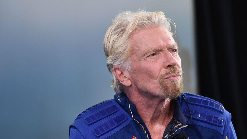 Richard Branson nach seinem Flug ins All im Juli 2021