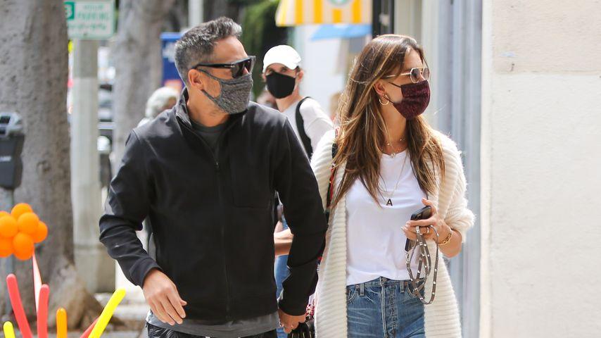 Richard Lee und Alessandra Ambrosio im April 2021 in Los Angeles