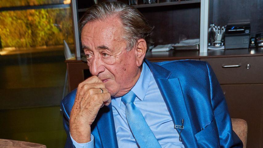 Richard Lugner bei seinem 84. Geburtstag in Wien