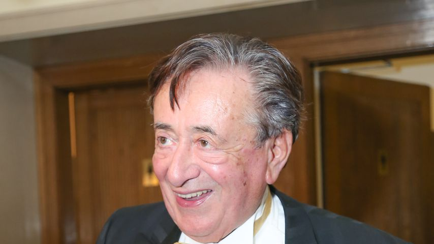 Baulöwe Richard Lugner beim Wiener Opernball 2015