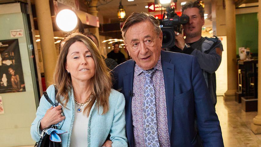 Richard Lugner mit Freundin Andrea in der Lugner City