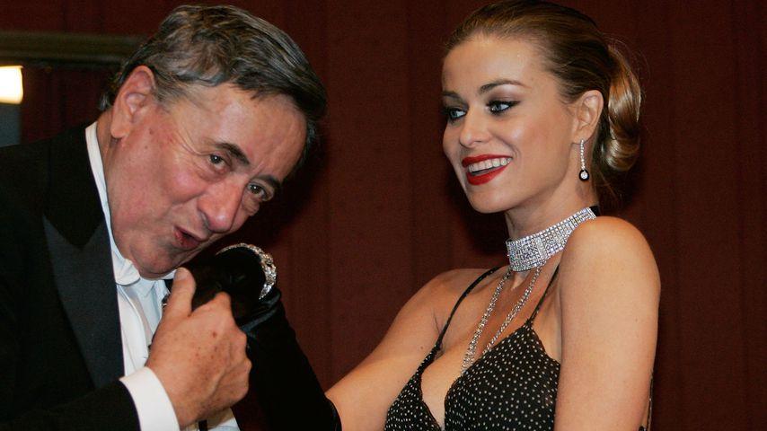 Richard Lugner und Carmen Electra auf dem Wiener Opernball im Jahr 2006