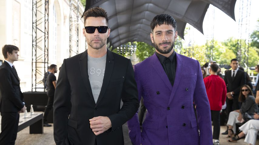 Ricky Martin und Jwan Yosef in Paris, Juni 2019