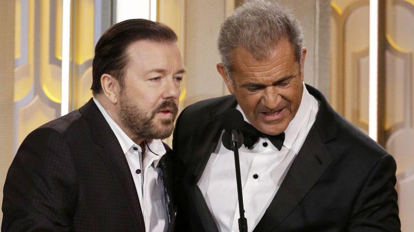 Golden Globe-Diss: Ricky Gervais beleidigt Mel Gibson