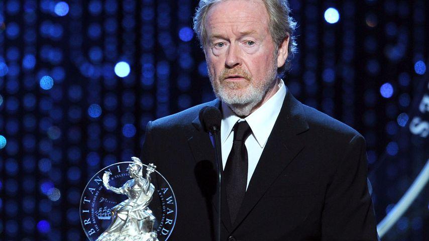 Ridley Scott mit seinem BAFTA Award