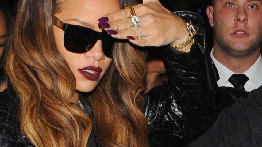 Rihanna: In Londoner Club mit Flasche beschmissen