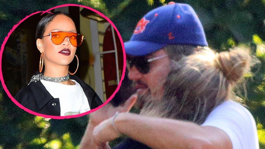 Peinlich: RiRi crasht Leonardo DiCaprios Date mit Nina Agdal