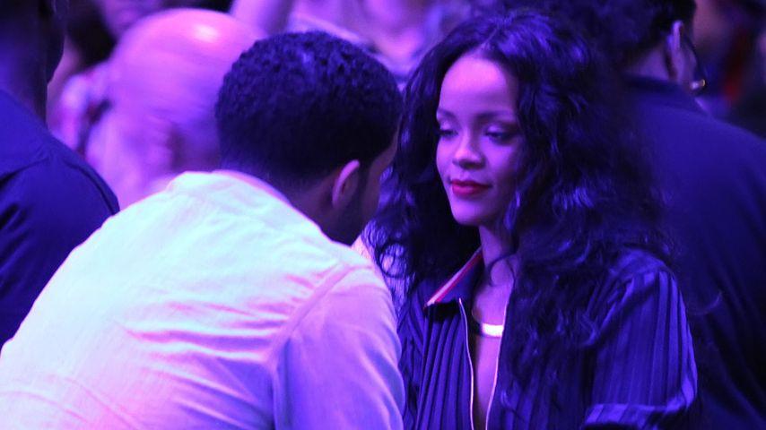 Rihanna und Drake beim Clippers Spiel in Oklahoma City