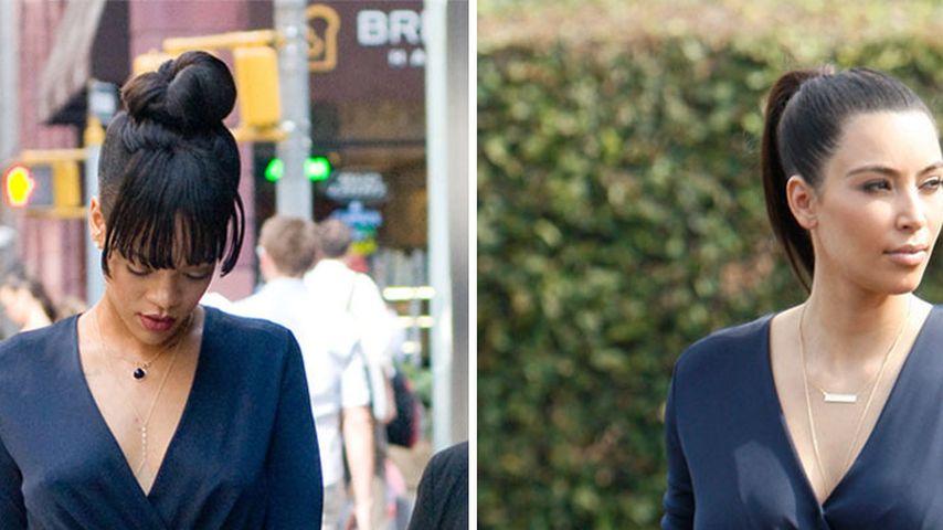 Wem steht's besser: Rihanna oder Kim?