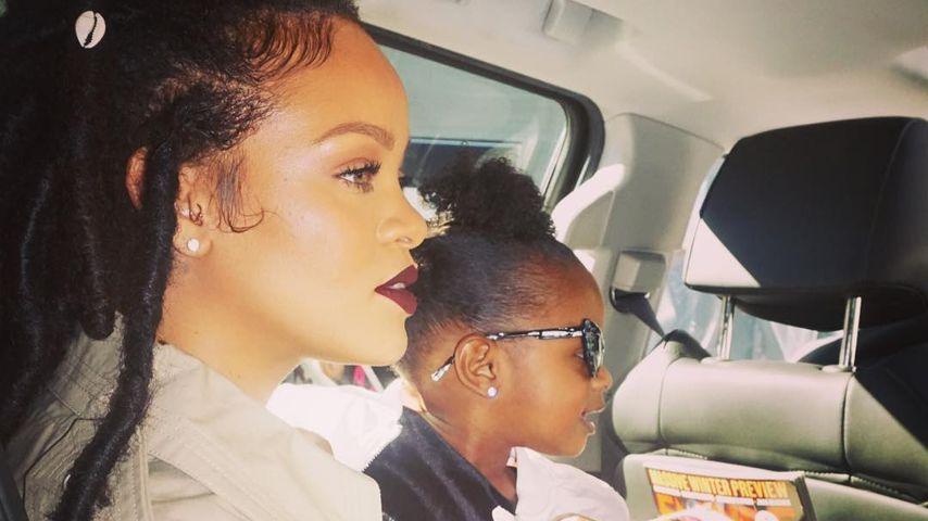 Rihanna und Nichte Majesty