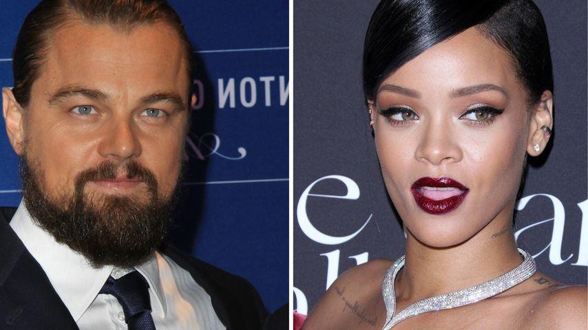 Hot! Knutsch-Alarm bei Leonardo DiCaprio & RiRi