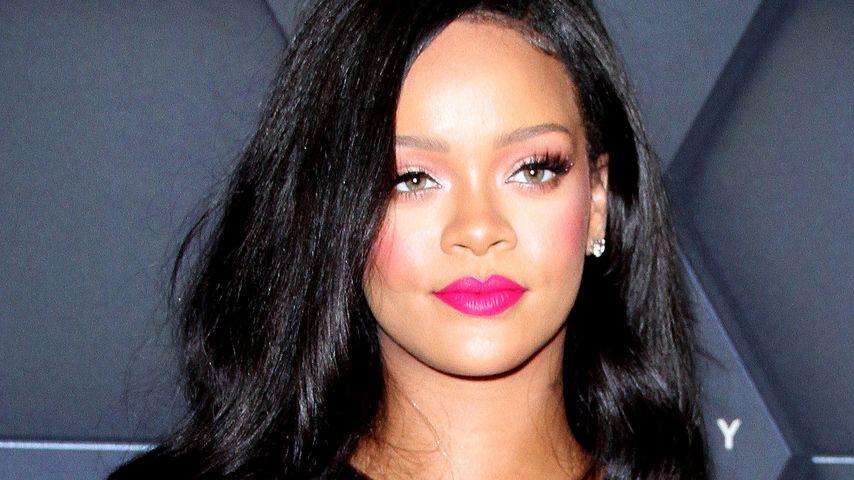 Rihanna während der New York Fashion Week