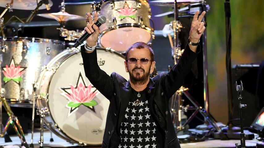 Ringo Starr auf einem Konzert in L.A. im September 2019